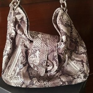 Nine West snakeskin purse